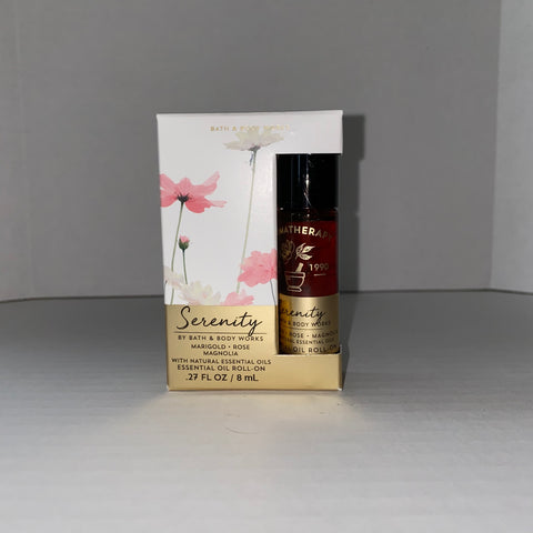 Bath & Body Works Serenity Marigold Rose Magnolia Essential Oil Roll On