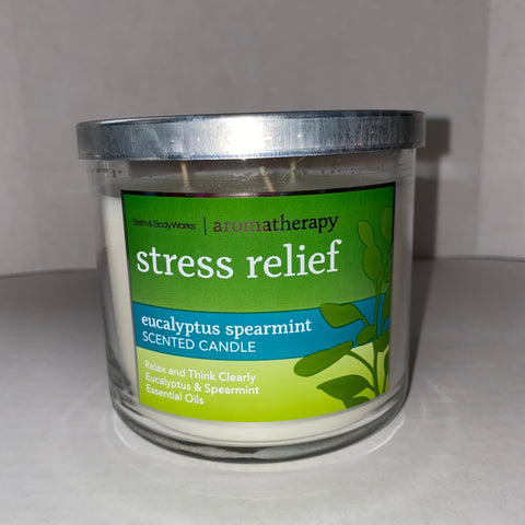 Bath & Body Works Stress Relief 3 Wick Candle