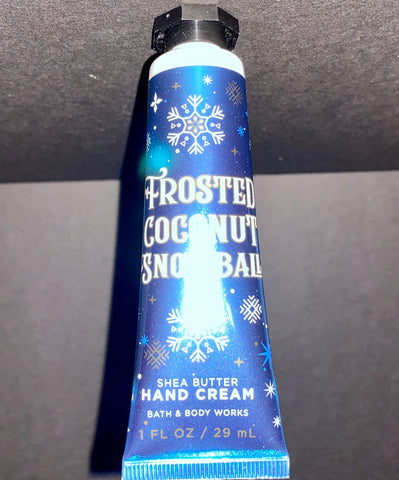 Bath & Body Works Frosted Coconut Snowball  Shea Hand Cream
