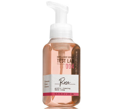 Bath & Body Works Test Lab 004 Rose Hand Soap