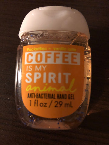 Bath & Body Coffee Is My Spirit Animal Pocketbac