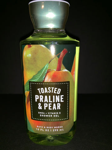 Bath & Body Works Toasted Praline & Pear Shower Gel