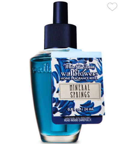 Bath & Body Works Mineral Springs Wallflower Refill