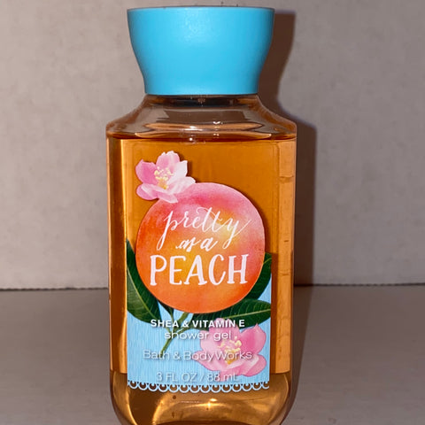 Bath & Body Works Travel Pretty as a Peach Shower Gel