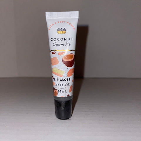 Bath & Body Works Coconut Cream Pie Lip Gloss