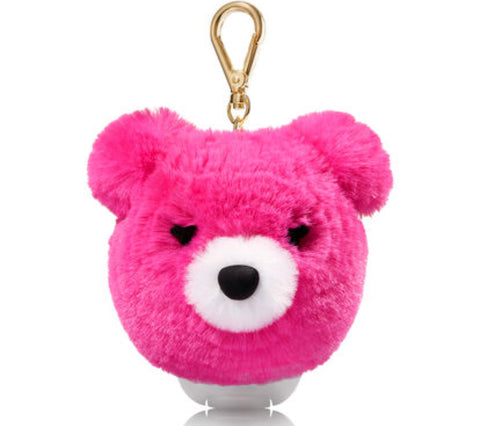 Bath & Body Works Pink Pom Bear Pocketbac Set