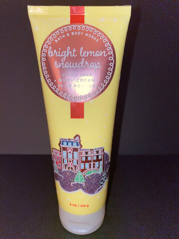Bath & Body Works Bright Lemon Snowdrop Body Cream
