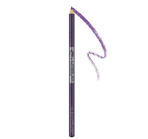 Kleancolor Long Eyeliner Pencil with Sharpener Icy Grape Glitter