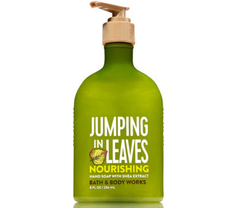 Bath & Body Works Jumping in Leaves Nourishing Hand Soap