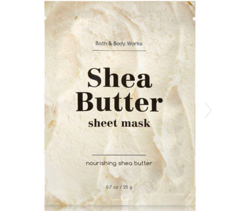 Bath & Body Works Shea Butter  Face Mask