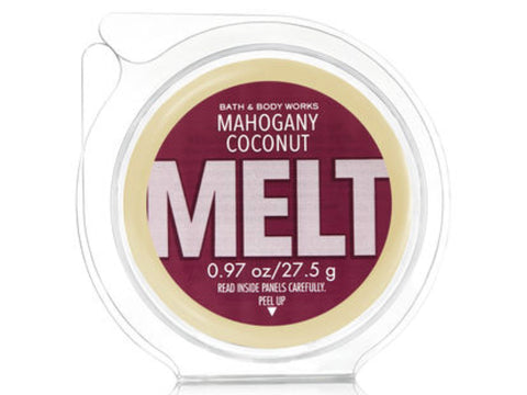 Bath & Body Works Mahogany Coconut Wax Melt