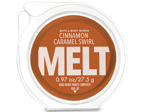 Bath & Body Works Cinnamon Carmel Swirl Wax Melt