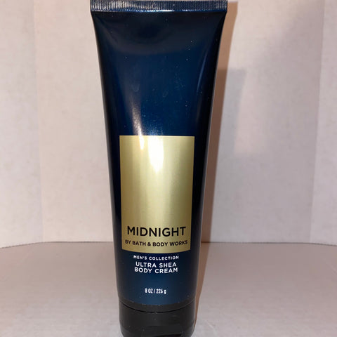 Bath & Body Works Men's Midnight Body Cream