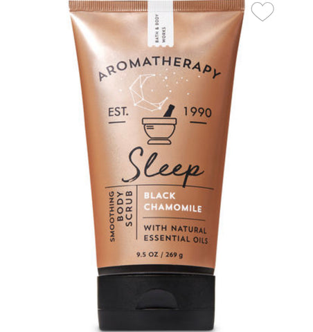 Bath & Body Works Sleep Black Chamomile Body Scrub