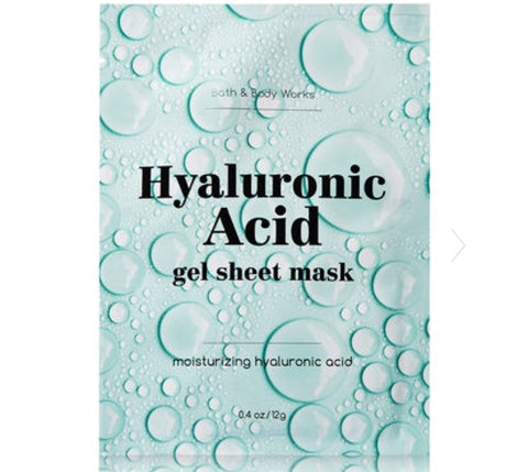 Bath & Body Works Hyaluronic  Acid Face Mask