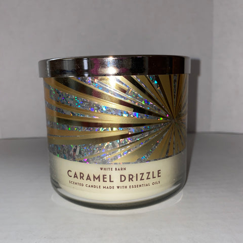 Bath & Body Works Caramel Drizzle 3 Wick Candle