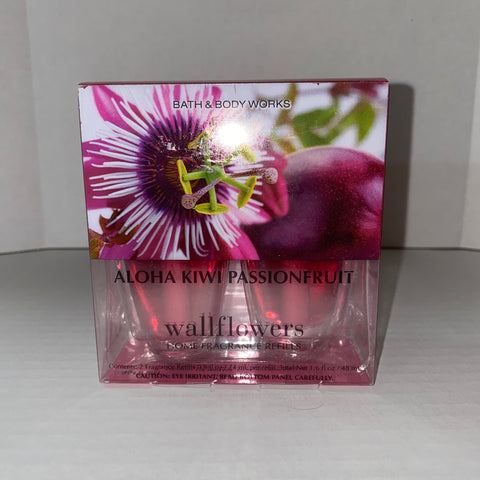 Bath & Body Works Aloha Kiwi Passionfruit Wallflower Refill 2 pak