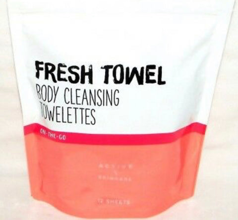 Bath & Body Works Fresh Towel Towelettes