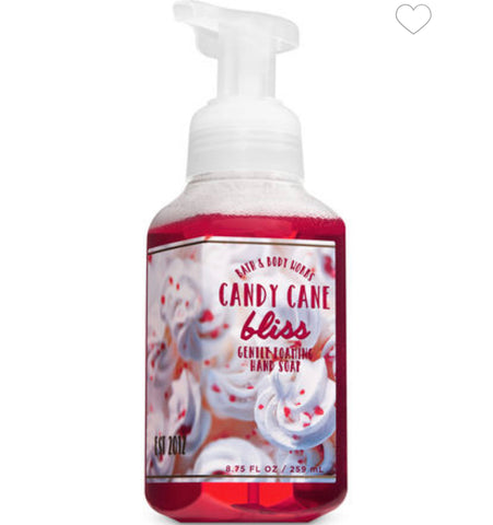 Bath & Body Works Candy Cane Bliss Foaming Hand Soap