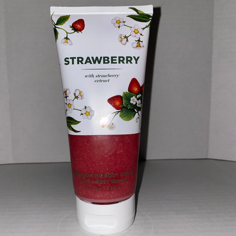 Bath & Body Works Strawberry Scrub
