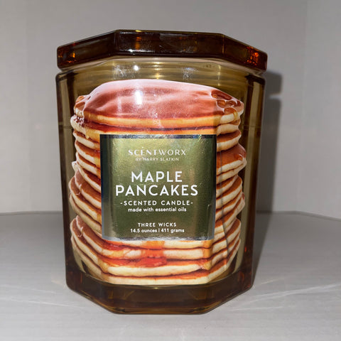 ScentWorx by Harry Slatkin Maple Pancakes 14.5-oz. Special Edition Candle Jar