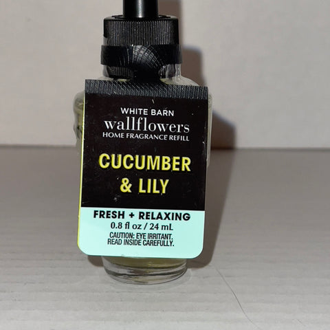 Bath & Body Works Cucumber & Lily Wallflower Refill