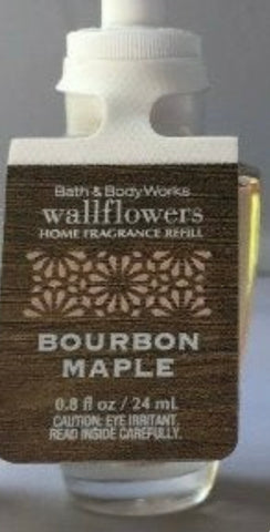 Bath & Body Works Bourbon Maple Wallflower Refill