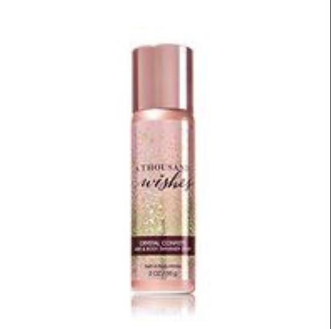 Bath & Body Works A Thousand Wishes Shimmer Hair Perfume