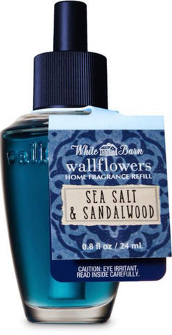 Bath & Body Works Sea Salt & Sandalwood Wallflower Refill
