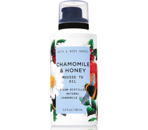Bath & Body Works Chamomile & Honey Mousse to Oil