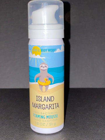 Bath & Body Works Island Margarita  Foaming Hand Sanitizer Mousse