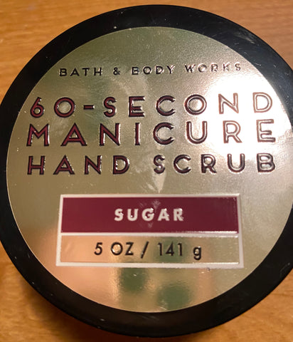 Bath & Body Works 60-second Manicure Hand Scrub