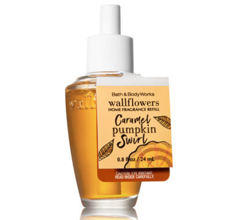 Bath & Body Works Caramel Pumpkin Swirl Wallflower Refill