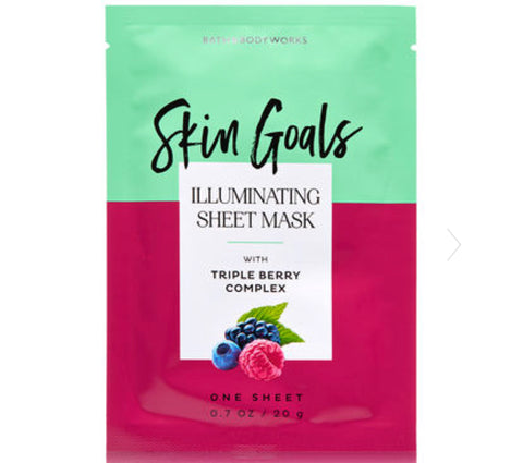Bath & Body Works Skin Goals with Triple Berry Complex Face Mask