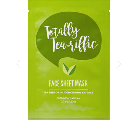 Bath & Body Works Keep Tea-rific Face Mask