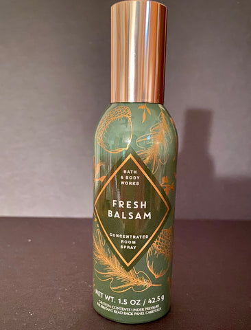 Bath & Body Works Fresh Balsam Air Freshner Spray