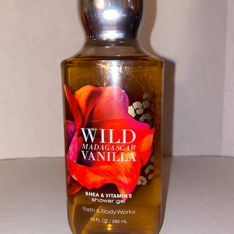 Bath & Body Works Wild Madagascar Vanilla Shower Gel