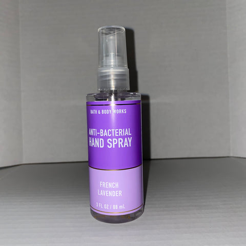 Bath & Body Works French Lavender Hand Sanitizer Spray