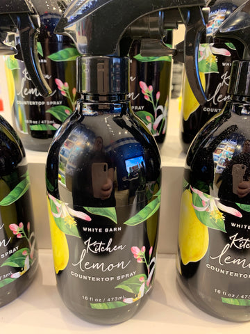 Bath & Body Works Kitchen Lemon Countertop Spray