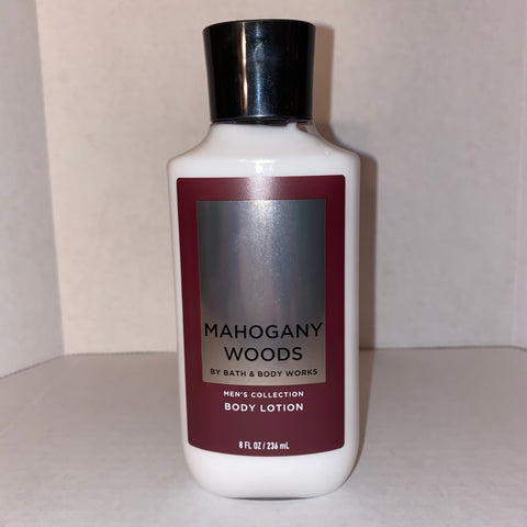 Bath & Body Works Men's Mahogany Woods Lotion