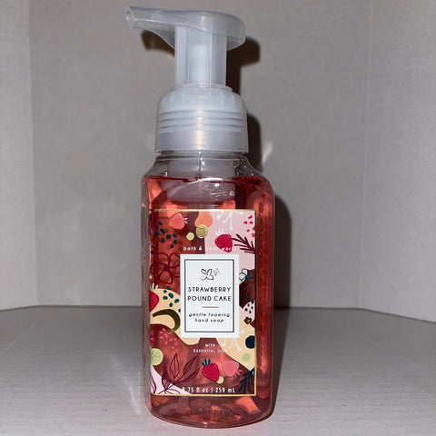 Bath & Body Works Strawberry Poundcake Hand Soap