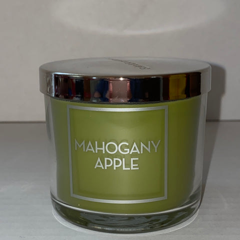 Bath & Body Works Mahogany Apple Single Wick Candle