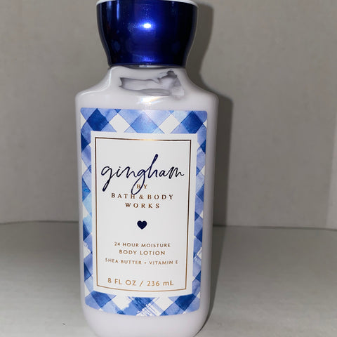 Bath & Body Works Gingham Body Lotion
