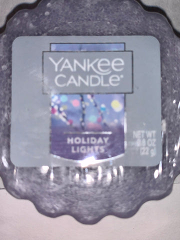 Yankee Candle Holiday Lights Tart