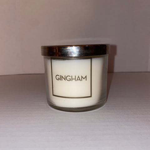 Bath & Body Works Gingham Single Wick Candle