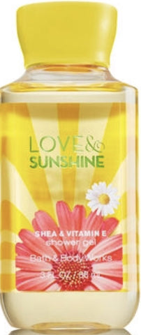 Bath & Body Works Travel Love & Sunshine Shower Gel