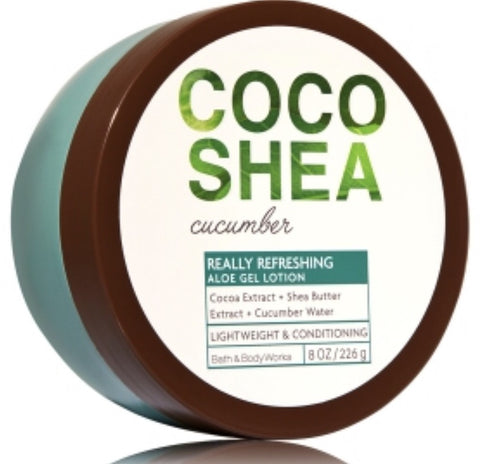 Bath & Body Works CoCoShea Cucumber Aloe Gel Lotion