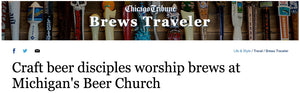 Front Page, Above the Masthead, Chicago Tribune?  Yes, Please!