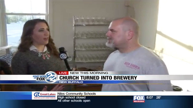 FOX 22's Alex Elich Interviews Beer Church's John Lustina