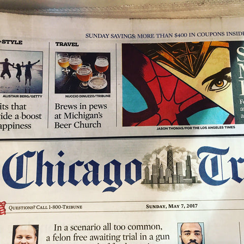 Chicago Tribune Feature about Beer Church Brewing Co.